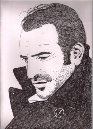Jean Dujardin by aartijadli